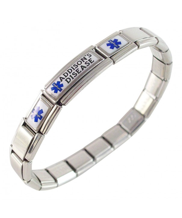 Addisons Disease Medical Italian Bracelet