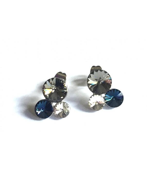 UPSERA Statement Earstuds Earrings crystals