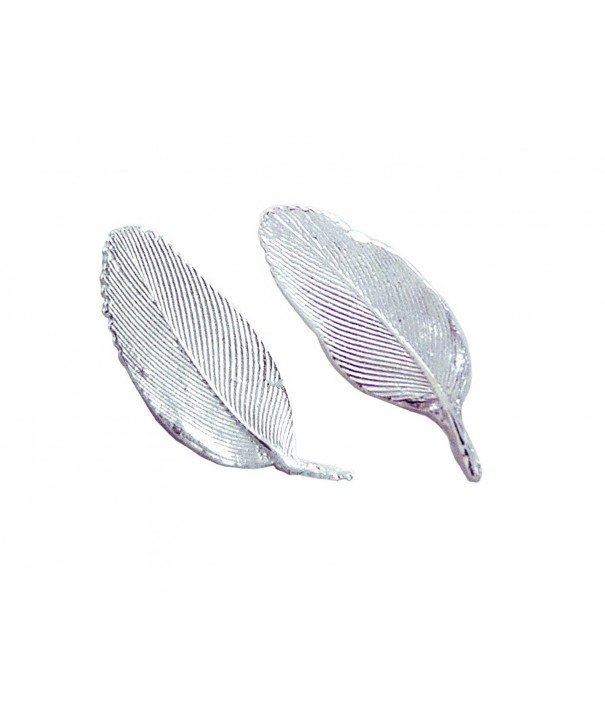 Feathers Earrings American Sterling Silver