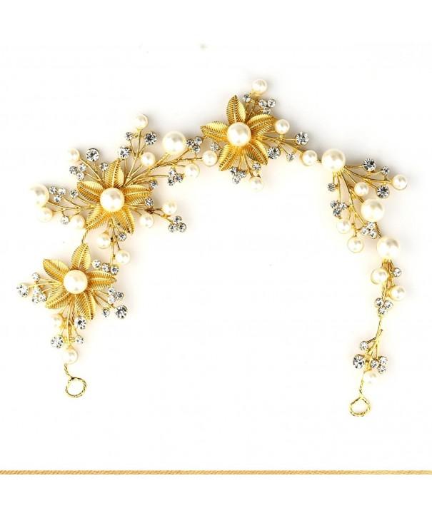 Soograin Flower Headband Plating Accessories