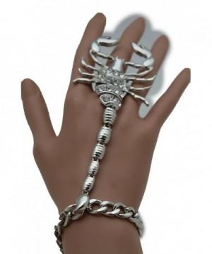 Fashion Jewelry Scorpion Bracelet Silver
