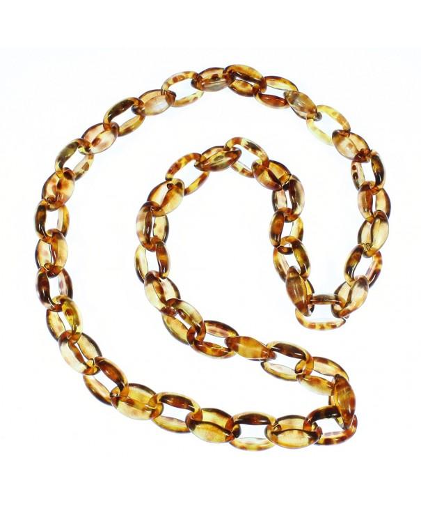 Lovely Tortoise Pattern Acrylic Necklace
