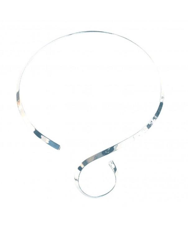 Silver Adjustable S Shape Pendants silver plated base