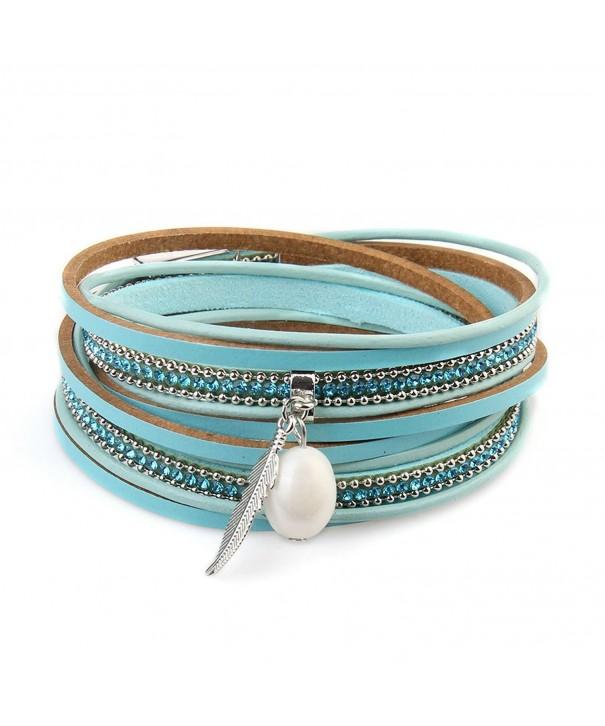 Jenia Feathers Magnetic Comfortable Bracelet