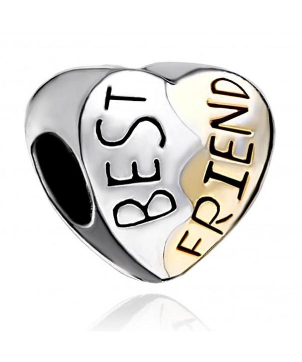 LovelyJewelry Silver Plated Friend Bracelet