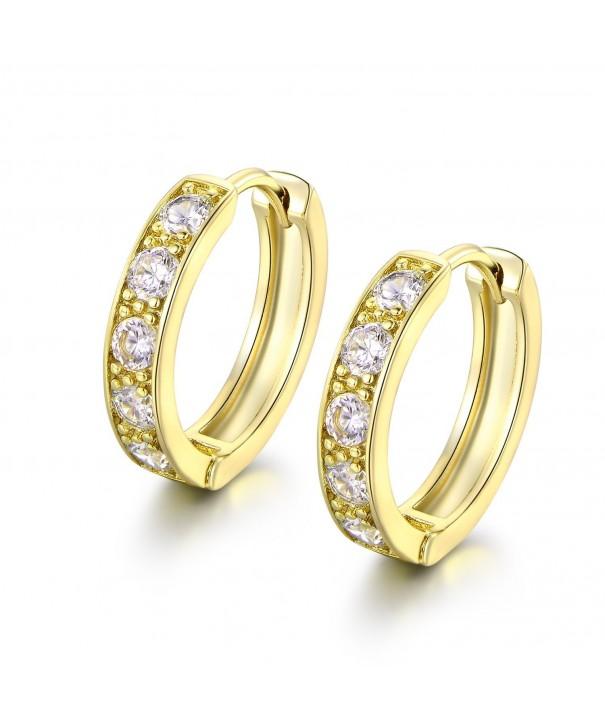 MASOP Womens Huggies Earrings Dangle