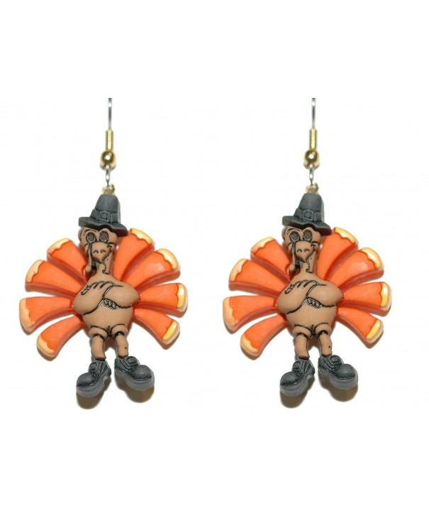 Colorful Thanksgiving Pierced Earrings H141