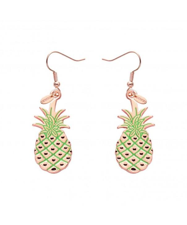 SENFAI Pineapple Earrings Simple Hipster