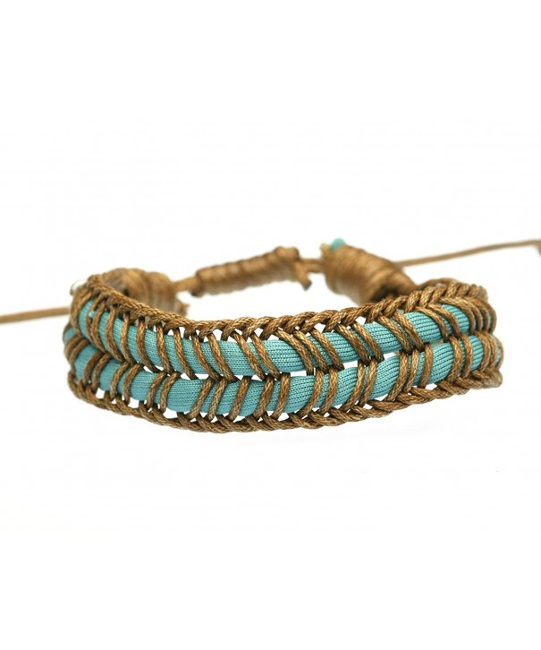 BLUEYES COLLECTION Cotton Braided Bracelet