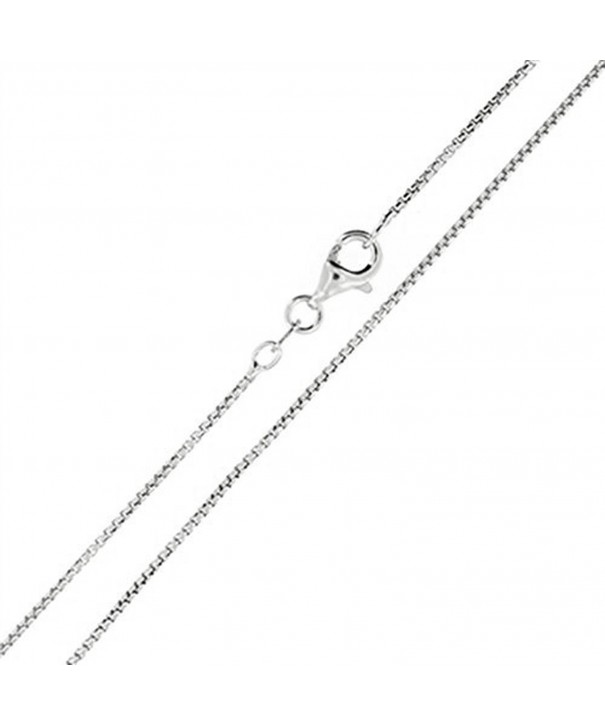 Sterling Silver 1mm 12mm Necklace 1 1mm 30