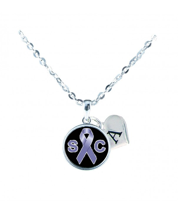 Stomach Awareness Necklace Jewelry Initial