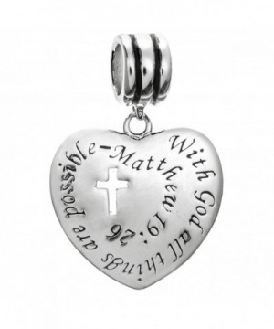Sterling Silver Christian Possible European