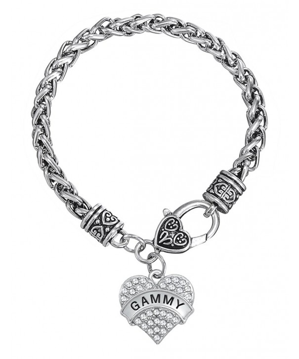 Crystal Lobster Bracelet Grandma Jewelry