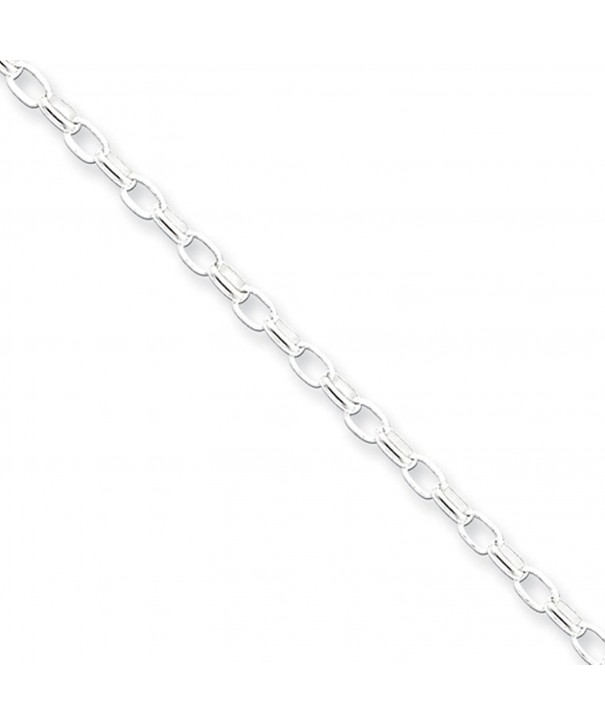 2 5mm Sterling Silver Solid Necklace