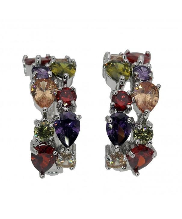 Earrings Silver Peridot Amethyst Jewelry