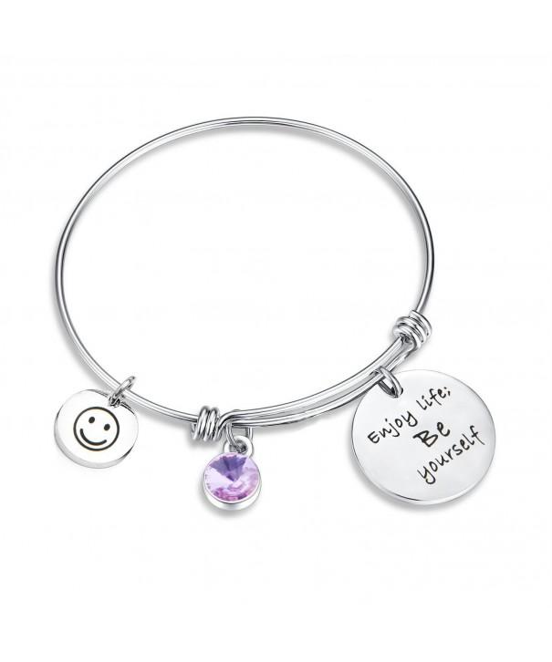 SEIRAA Birthstone Bracelet Yourself Expandable