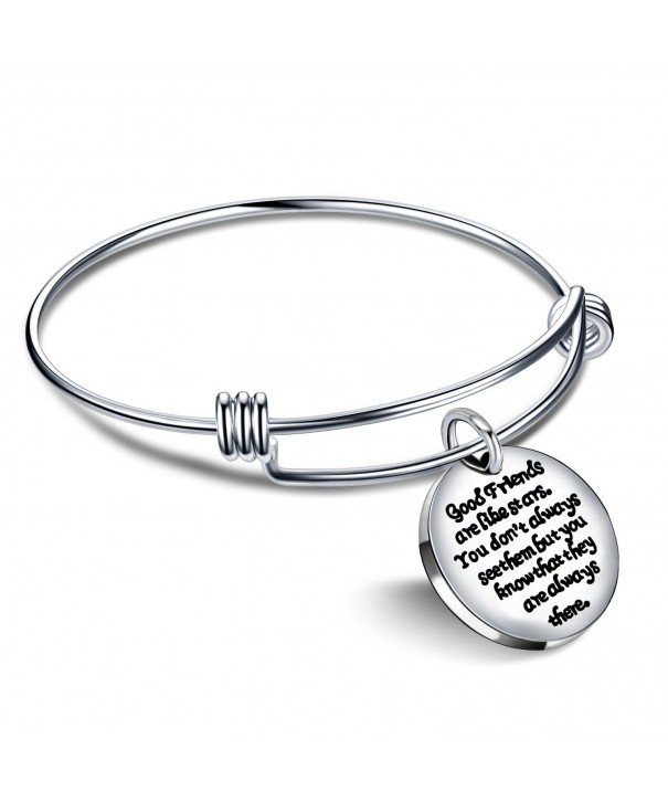 Expandable Bangle Bracelet friends always
