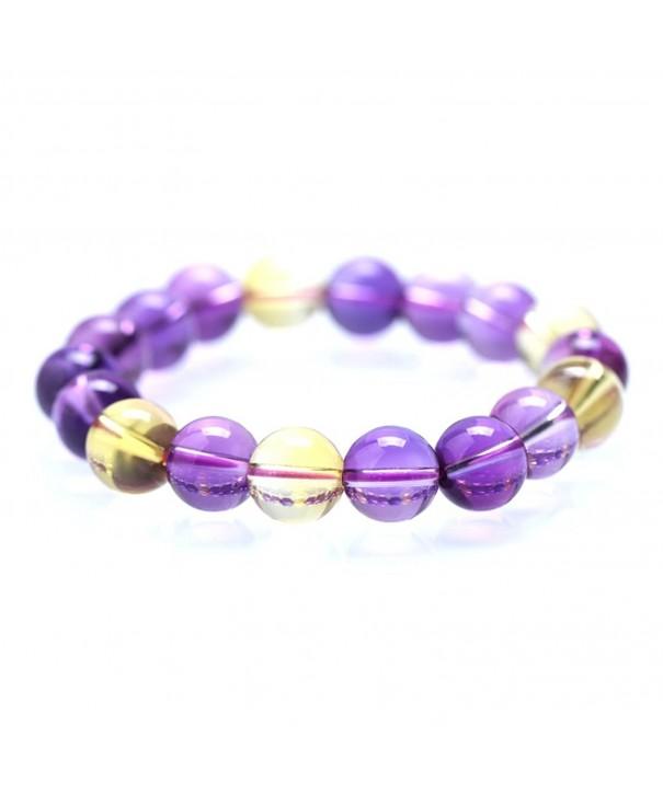 MIKINI Healing Gemstone Bracelet Amethyst