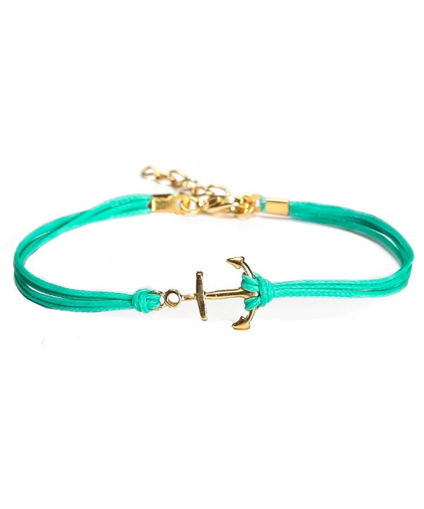 bracelet turquoise minimalist jewelry nautical