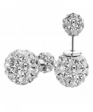 Sterling Silver Zirconia Earrings Jewelry