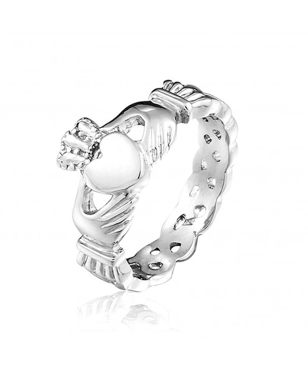 SHINYSO Fashion Jewelry Stainless Claddagh