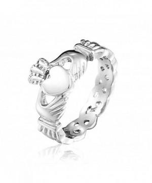 SHINYSO Fashion Jewelry Stainless Claddagh