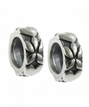 Sterling Silver Infinity Floral European