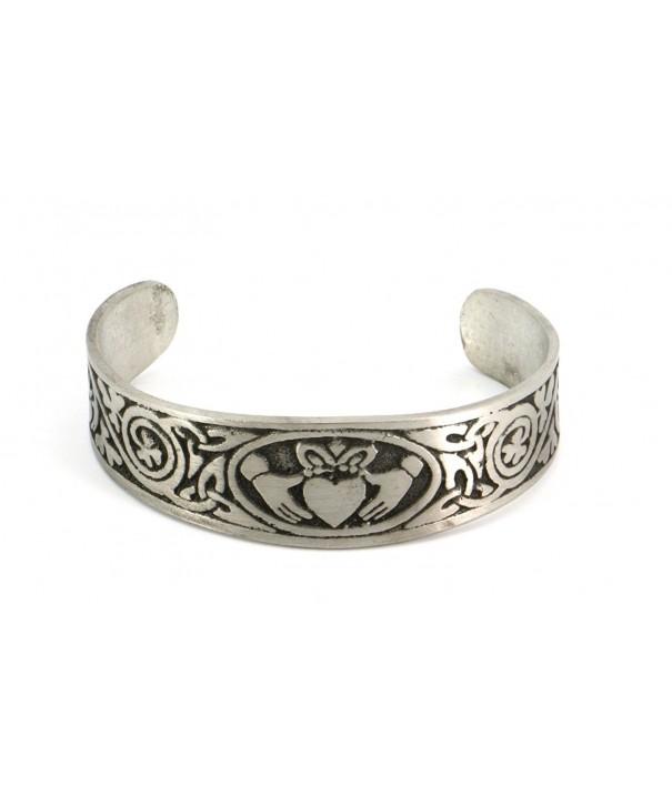 Handmade Claddagh Bracelet Traditional Adjustable