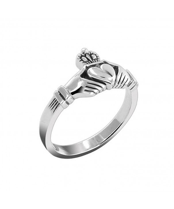 Sterling Silver Celtic Classic Claddagh