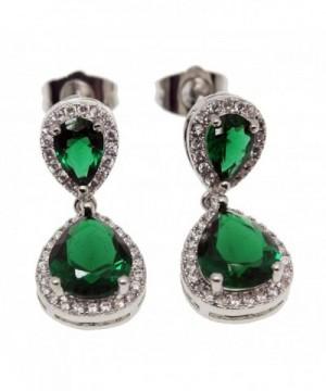 Hermosa Earrings Emerald Sapphire Jewelry