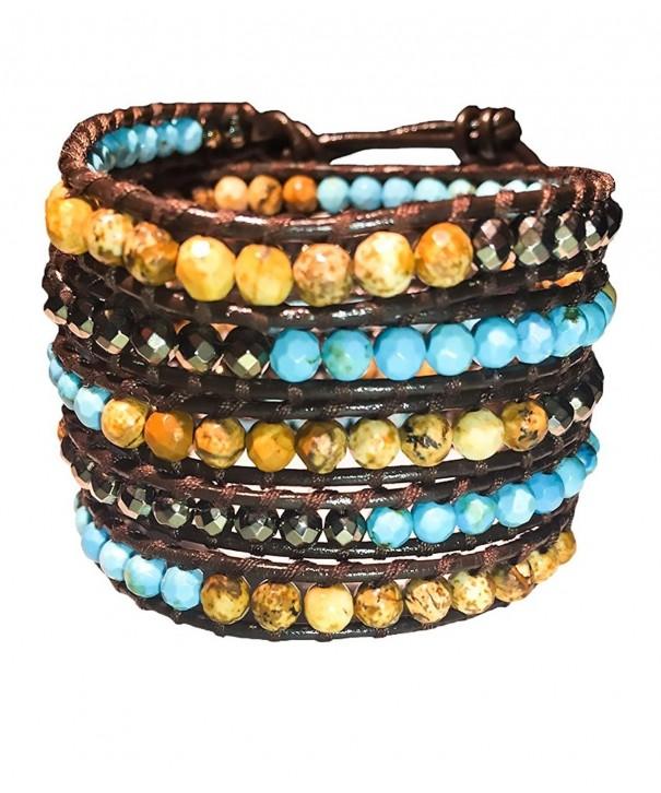 Turquoise Gemstone Bracelet Emily LaRosa