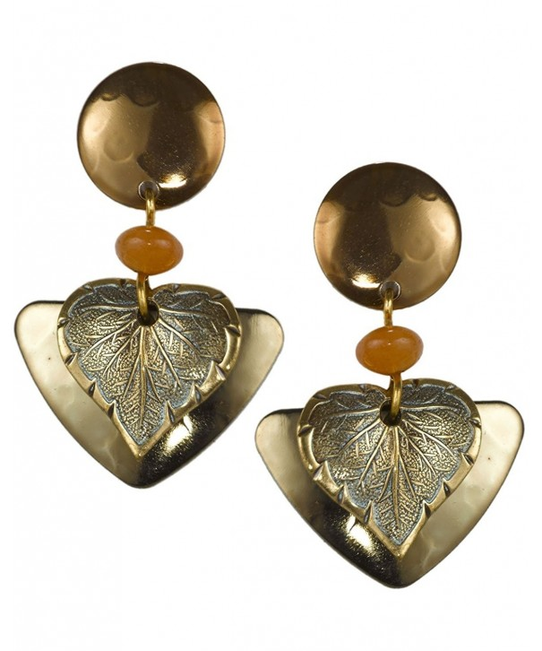 Dangling Earring Surgical Silver Forest