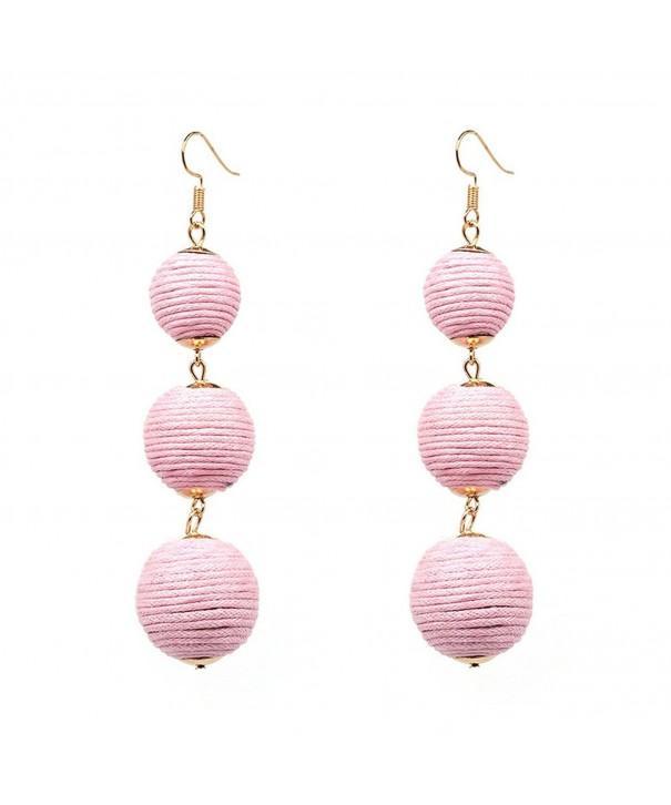 JG Thread Dangle Earrings Soriee