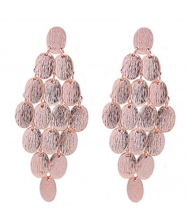 Heirloom Finds Brushed Chandelier Earrings