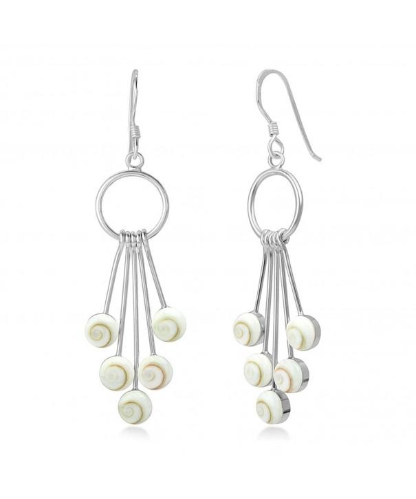 Sterling Silver Dangling Elegant Earrings