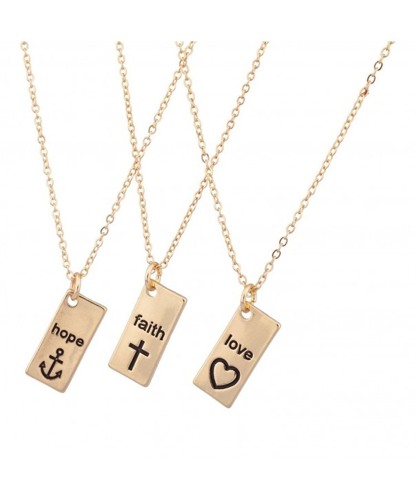 Lux Accessories Inspiration Matching Necklaces