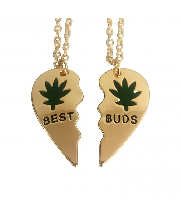 Art Attack Marijuana Matching Necklace