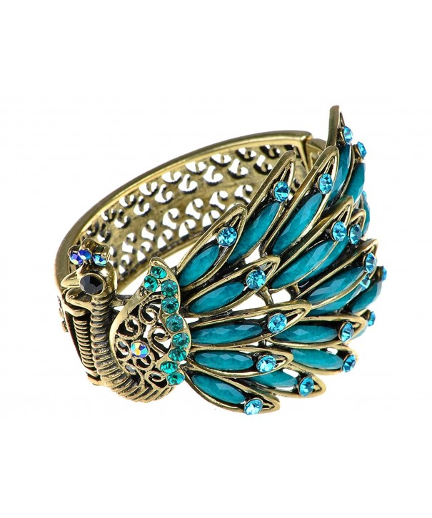 Alilang Antique Peacock Bracelet Turquoise