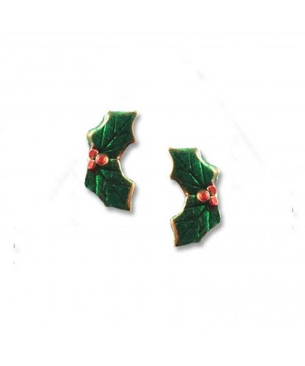 Enamel Green Earrings Magic Zoo
