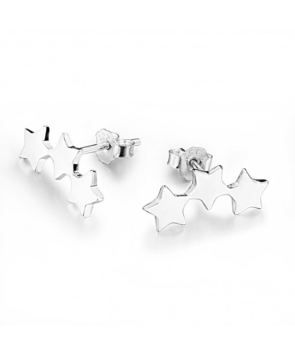 Star Climber Earrings Sterling Silver