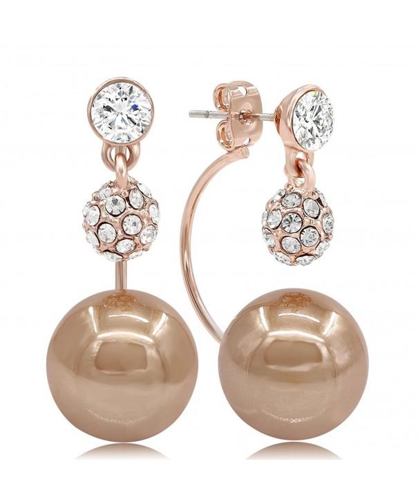 Kemstone Crystal Chocolate Jewelry Earrings