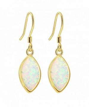 Sinlifu Gemstone Australian Marquise Earrings
