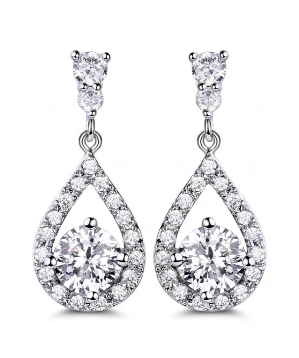 GULICX Dazzling Flawless Zirconia Earrings