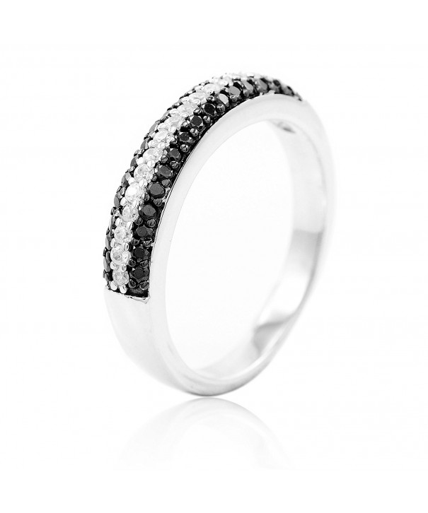BaiBo Sterling Silver Zirconia Fashion
