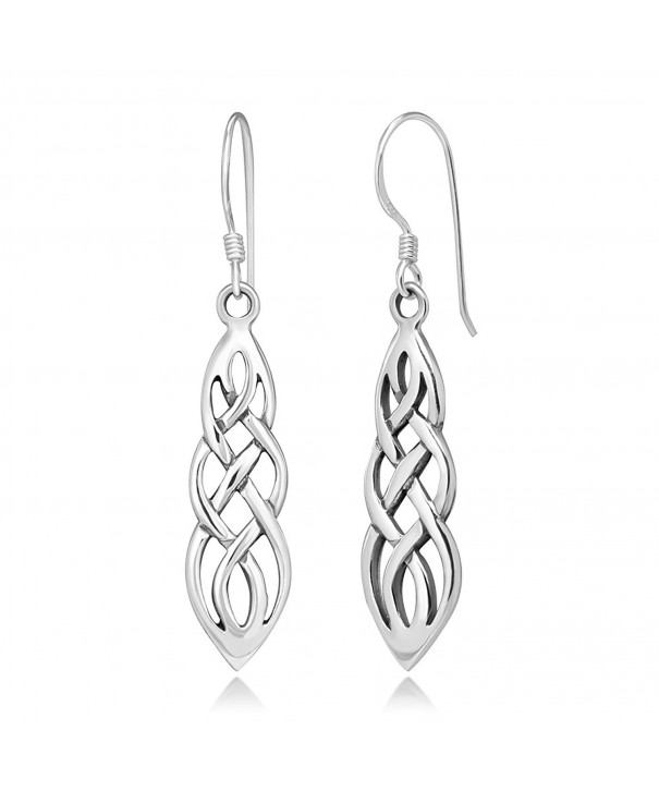 Sterling Silver Celtic Inifity Earrings