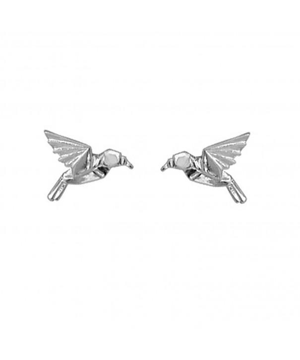Boma Sterling Silver Origami Hummingbird