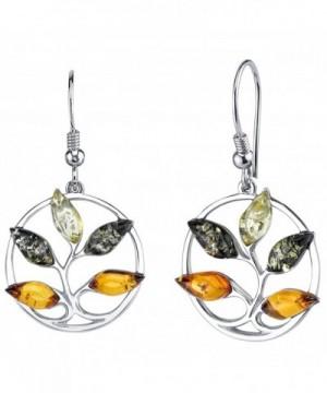 Baltic Autumn Earrings Sterling Multiple