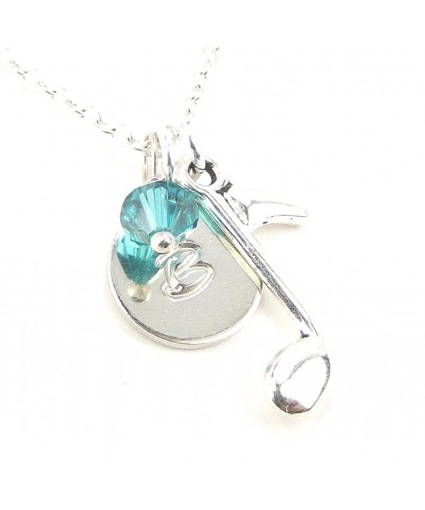Personalized Necklace Customize Swarovski Birthday