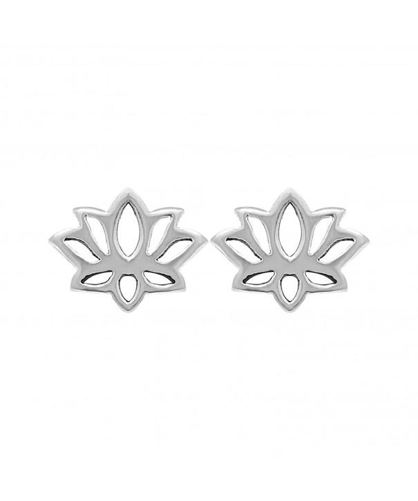 Boma Sterling Silver Blossom Earrings