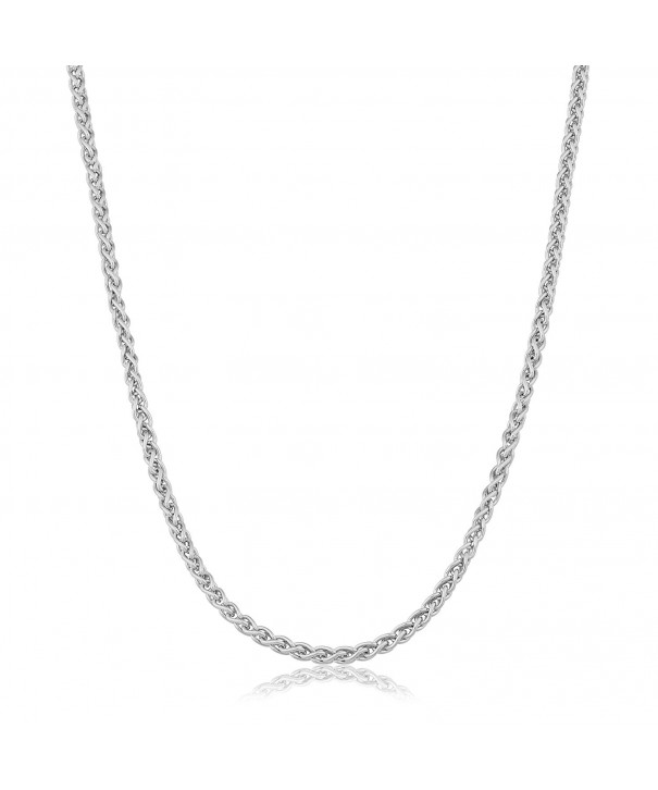 Sterling Silver 1 5 mm Round Wheat